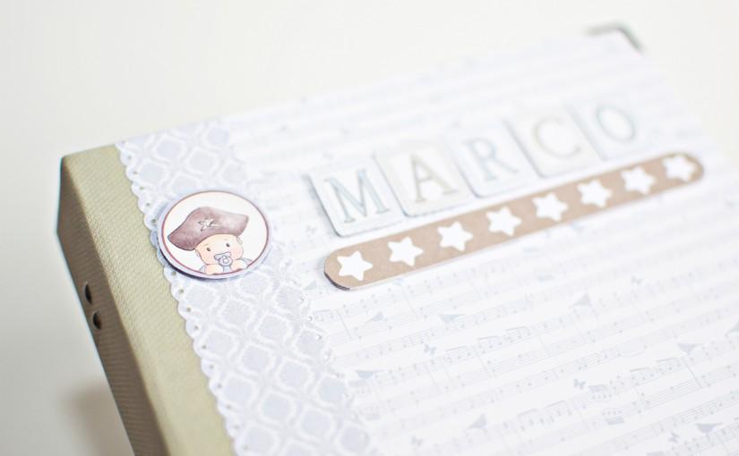 El álbum para los «papás» de Marco