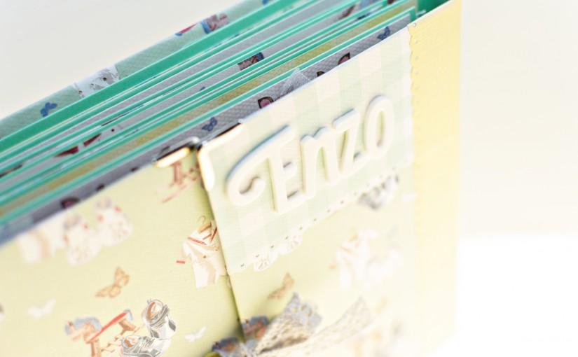 Mini álbum para Enzo… ¡va a llegar prontito!