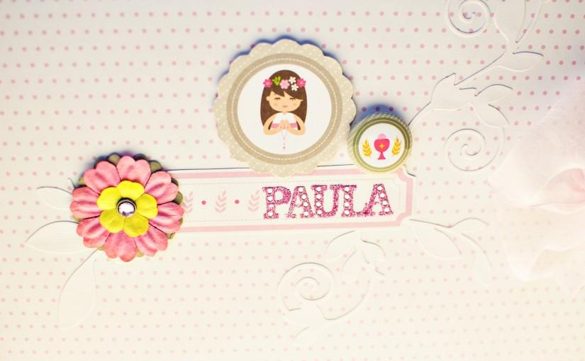 Libro de firmas para Paula