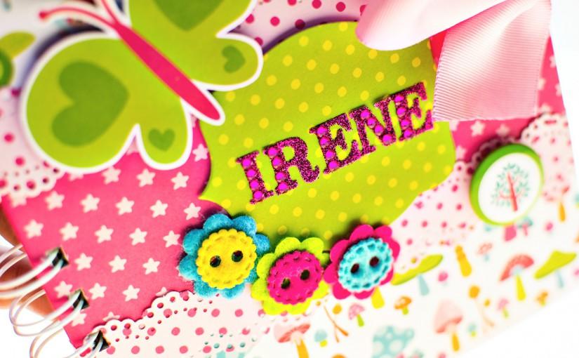 Un cuaderno muy especial para Irene