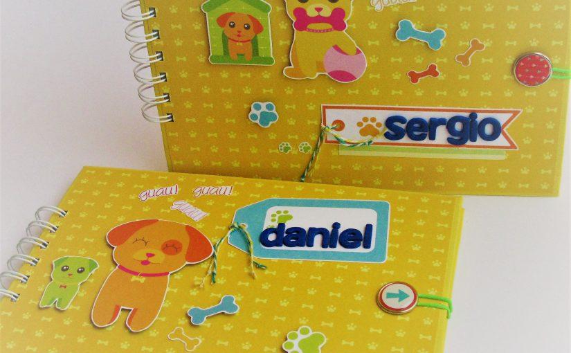 Blocs de dibujo para Daniel & Sergio