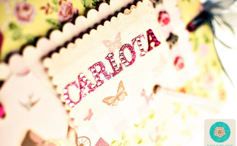 Álbum de bebé para Carlota