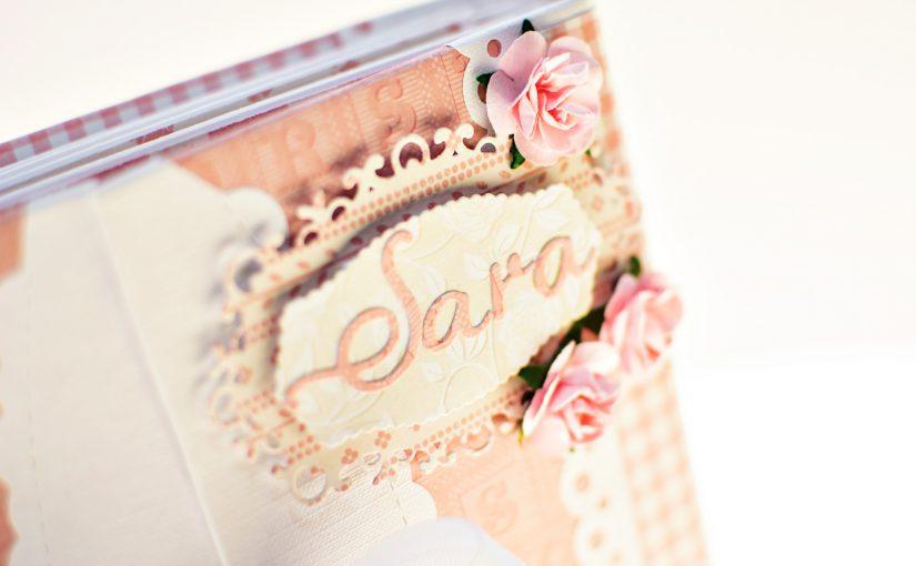 Album scrapbooking bebé Sara