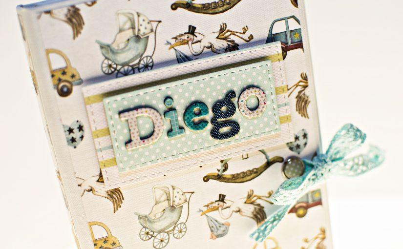 Álbum cascada doble para Diego