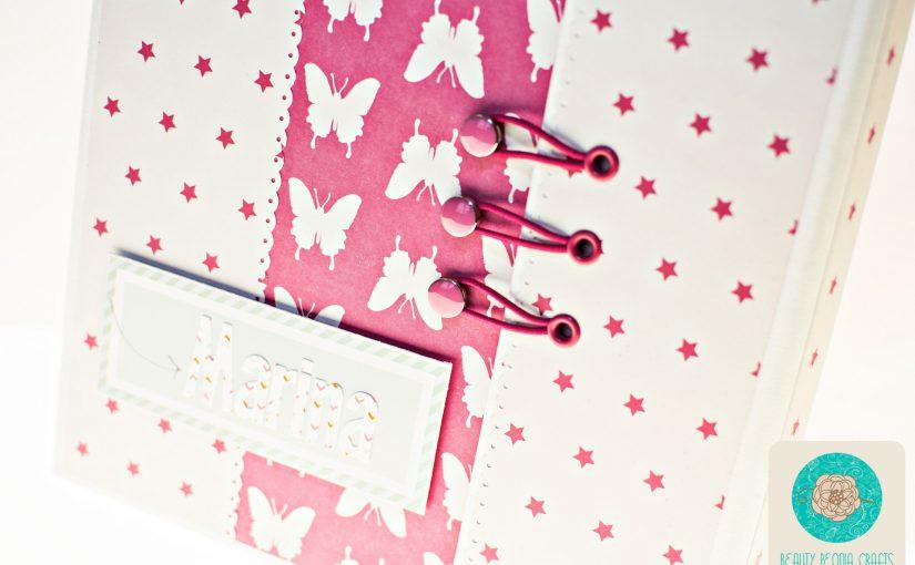 Un cuaderno personalizado para Marina