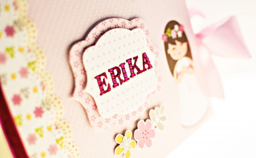 Mini Álbum Primera Comunión Erika