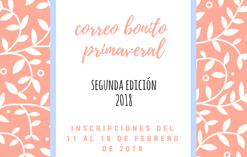 2ª Edición Intercambio #correobonitoprimaveral