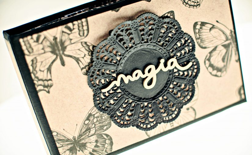 """Mini álbum scrapbooking """"magia"""""""