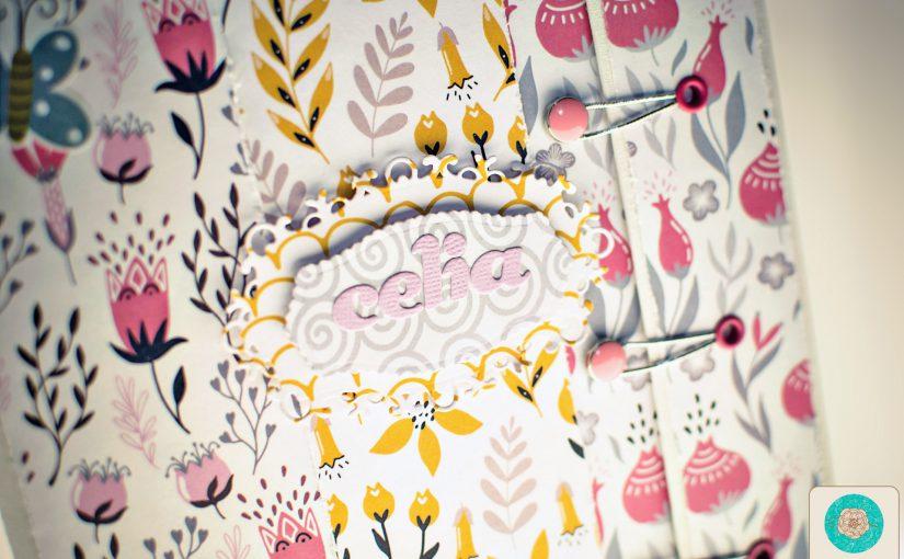 Diario para Celia, colección «BIG BANG FLOWERS» de Papers for you