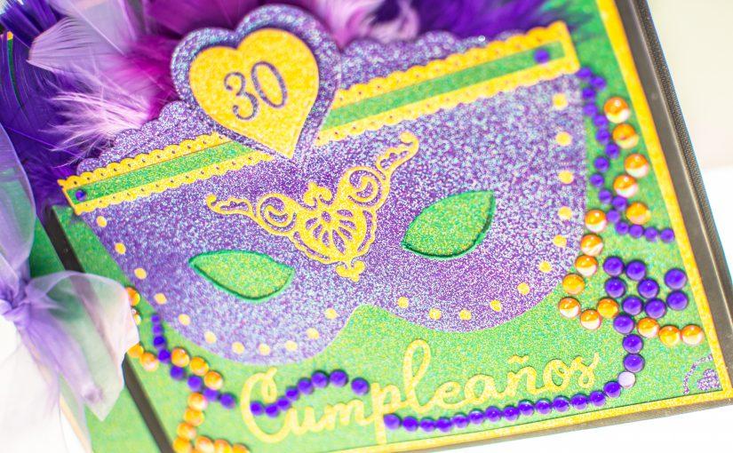 "Libro de firmas ""Mardi Gras"""