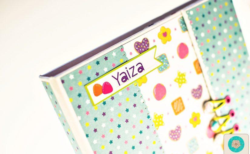 Cuaderno personalizado para Yaiza