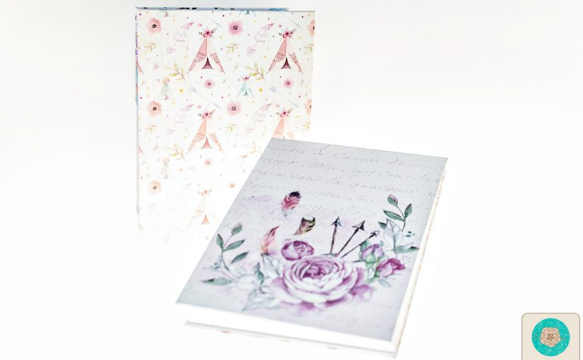 Cuadernos con  costura francesa expuesta | Papers for you