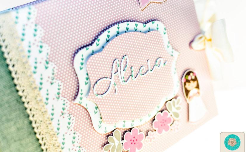 Álbum de comunion  para Alicia | Anita y su mundo