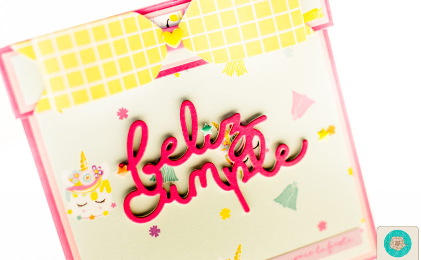 Álbum maze o laberinto «Feliz en tu día» | Gigi et Moi