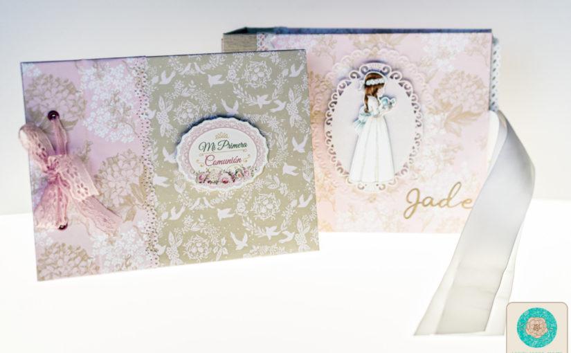 Álbum de comunión y libro de firmas Jade | Dayka